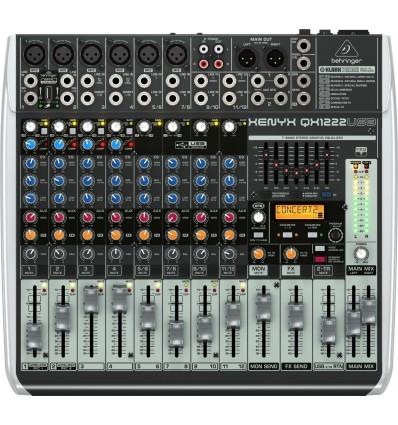 Consola Behringer Xenyx QX1222USB