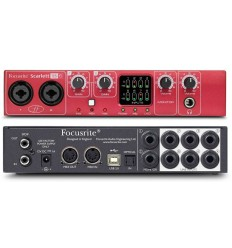 Interface de Grabacion Focusrite 18i6