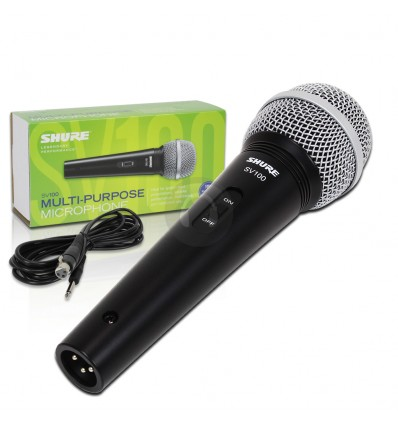 Microfono Dinamico Vocal Shure SV100