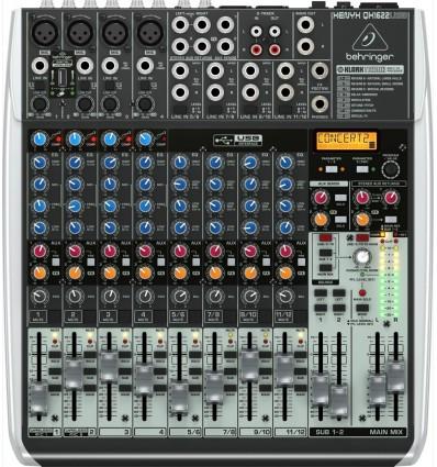 Consola Behringer Xenyx QX1622USB