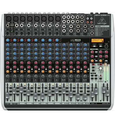 Consola Pasiva Behringer Xenyx QX2222USB