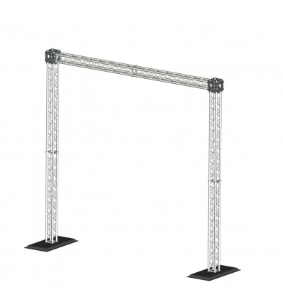 Sistema De Truss Sound Barrier Para Dj Djk-2