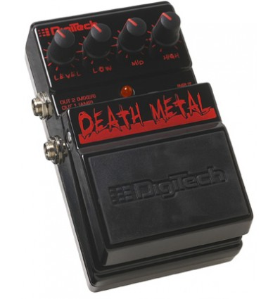 Pedal de Guitarra Digitech Death Metal DDM