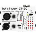 Probador de Cable Behringer CT100