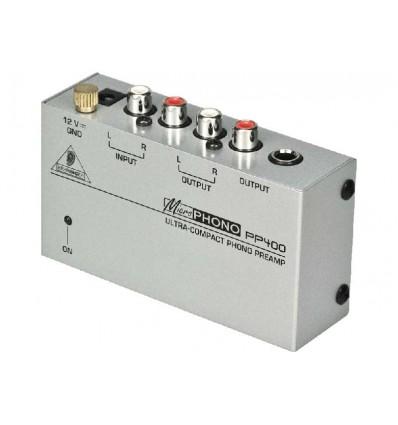 Preamplificador de audio Behringer PP400