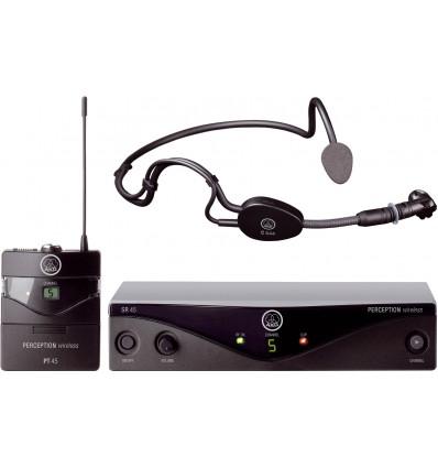 Microfono Inalambrico de Cintillo AKG Perception 45 Sport